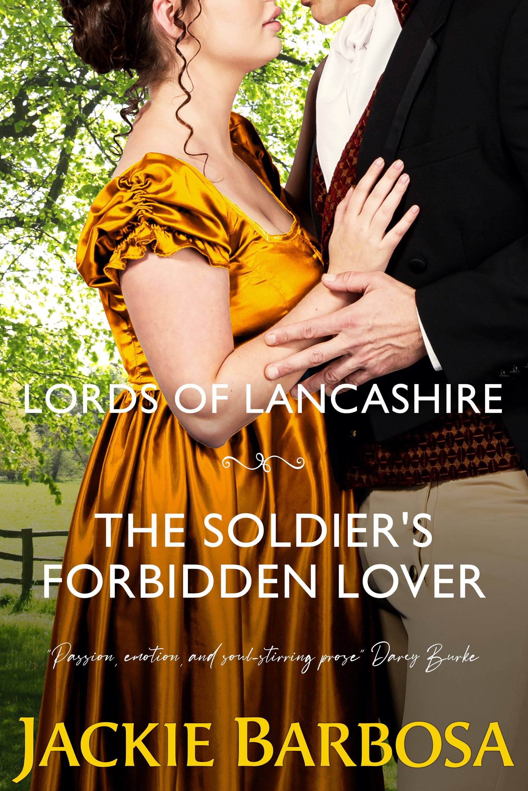 The Soldier's Forbidden Lover by Jackie Barbosa