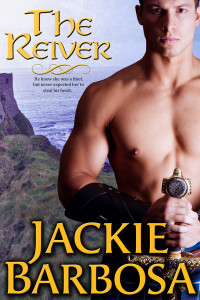 Jackie Barbosa's THE REIVER cover